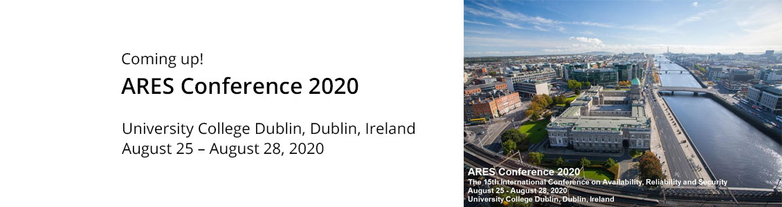 ARES Conference » Call for Papers 2019
